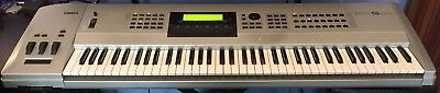 Yamaha EX5 AWM/AN/VL/FDSP Synthesiser with SCSI and FLASH. Boxed.