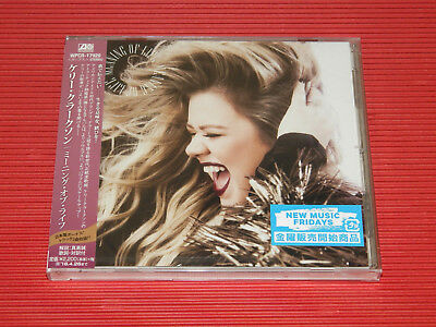 2017 JAPAN CD KELLY CLARKSON Meaning of Life with Bonus Tracks