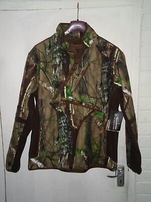 Deerhunter Gamekeeper Realtree Fleece Size 44/46 Waterproof Breathable Windproof