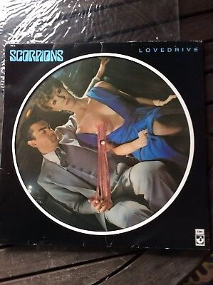 Scorpions unplayed Lovedrive Picture Disc