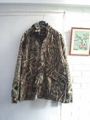 Deerhunter Avanti Realtree Jacket Size 36/38  Rrp £199.99 Waterproof Breathable