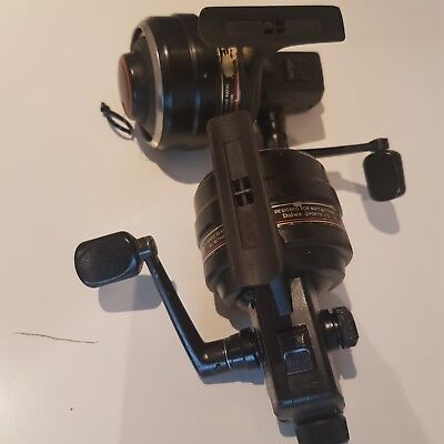 Daiwa 125m closed face reels x 2 - 1 for spares or repairs