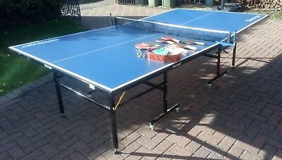 Slazenger Indoor/Outdoor Foldable Table Tennis Table Used