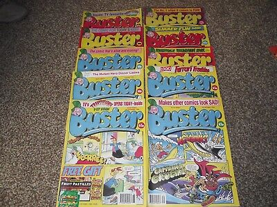 10 Issues Buster Weekly Comics 1994