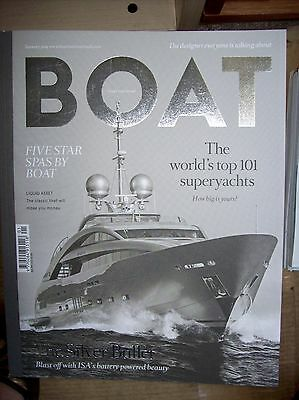 Huge Job Lot / Collection 190 'boat International' Yachting Magazines 2000-2016