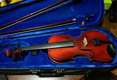 vintage Roderich Paesold 801 violin, 3/4 size, made in 1978