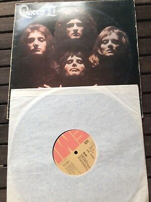 Queen II  Spanish / Portugal Day at the races    Sheer heart attack Canadian