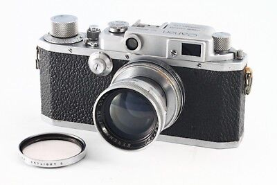 """Exc"" Canon IIb Rangefinder camera ""Made in Ocupied Japan"" w/Serenar 50mm F1.9"