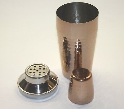 Stainless Steel Copper Cocktail Shaker