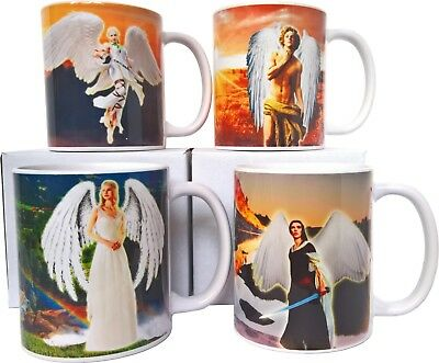 ANGEL PERSONALISED CUP Gift Mug Kids Home Christmas Birthday Party her Present
