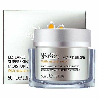Brand New Liz Earle Superskin Mosturizer With Natural Neroli 50ml