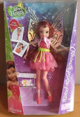 ROSELIA Rosetta fée disney fairies CLOCHETTE Poupée JAKKS PACIFIC Collection new