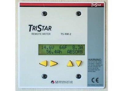Genuine Morningstar TriStar TS-RM-2  Remote Digital Meter for TS and TS-MPPT