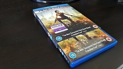Resident Evil The Final Chapter Blu Ray