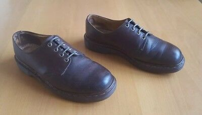 Dr Martens mens leather shoes size 9 vintage