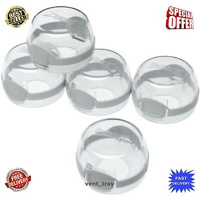 Safety 1st Kitchen Gas Electric Stove Knob Covers for Baby Kids Children Locks