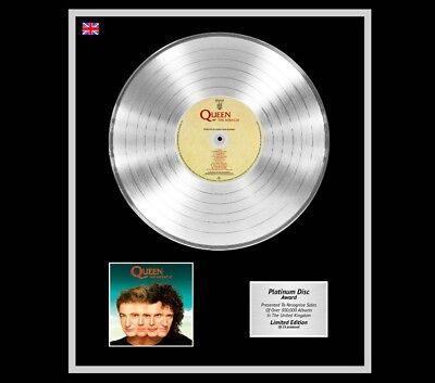 QUEEN Ltd Edition CD Platinum Disc Record THE MIRACLE