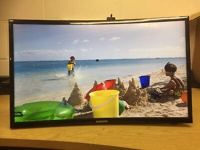 """Samsung V24F39S Smart Wifi 24"""" Led Curved Tv Monitor Freeview Hd 1080P *e36*"""