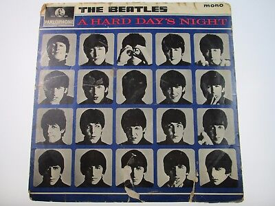 BEATLES A HARD DAYS NIGHT Original 1964 1st press Parlophone PMC1230