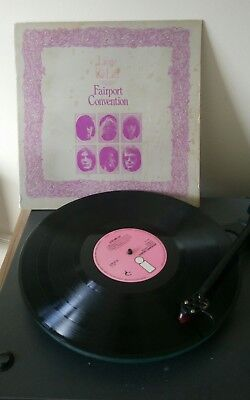 FAIRPORT CONVENTION Liege And Lief LP 1969 UK 1st Press!