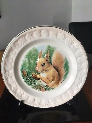 Royal Worcester Spode Red Squirrel