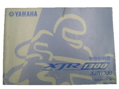 YAMAHA Genuine Used Motorcycle Instruction Manual XJR1300 RP17J
