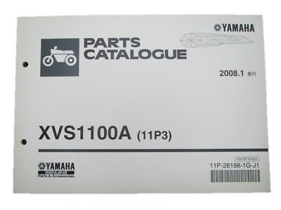 YAMAHA Genuine Used Motorcycle Parts List DragStar1100 Edition 1