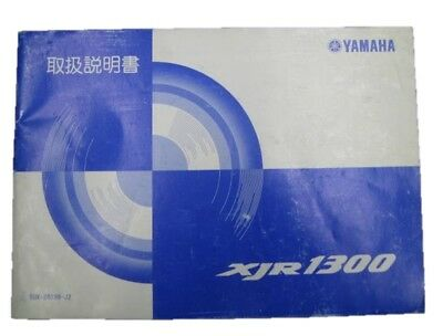 YAMAHA Genuine Used Motorcycle Instruction Manual XJR1300 RP03J