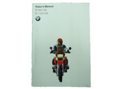 BMW Genuine Used Motorcycle Instruction Manual BMW in English