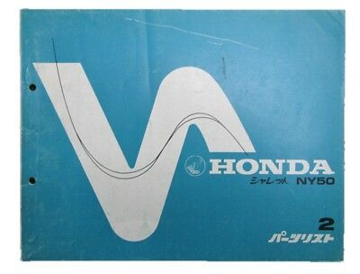 HONDA Genuine Used Motorcycle Parts List Chalet Edition 2