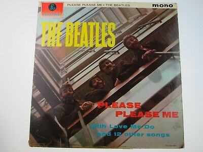 THE BEATLES - PLEASE PLEASE ME 1ST PRESSING PMC 1202 Parlophone
