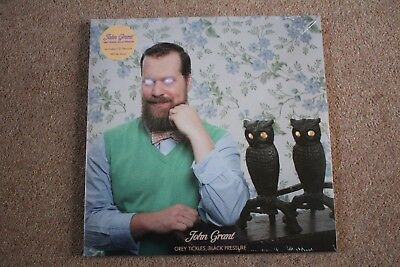 John Grant - Grey Tickles, Black Pressure - Double White Vinyl Album - Sealed