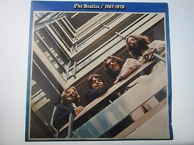 THE BEATLES 1967-1970 1st PRESS STEREO PCS 7181 VINYL LPs 909-1