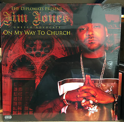 Jim Jones ‎– On My Way To Church 2LP Diplomats