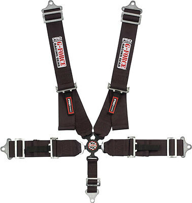 G-FORCE Black Camlock 5 Point Harness P/N 7000BK