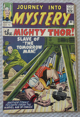 JOURNEY INTO MYSTERY #102, 1st appearance of HELA, SILVER AGE CLASSIC.