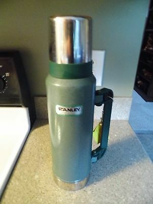 Vintage Green Stanley coffee Thermos - 1.4 qt