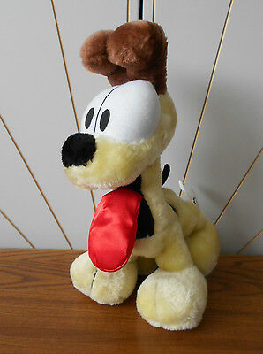 ODIE THE DOG character soft toy plush/comforter GARFIELD play by play