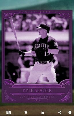 MLB Topps Bunt 2016 digital card - contest award KYLE SEAGER mariners low cc492!