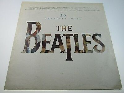 The Beatles vinyl 20 Greatest Hits Parlophone PCTC 260 EMI UK LP