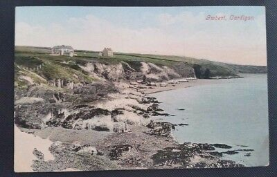 Nice Vintage Postcard Gwbert-on-Sea, Cardigan, Wales
