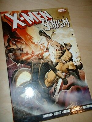 Marvel X-MEN Graphic Novel - SCHISM -paperback edition VGC