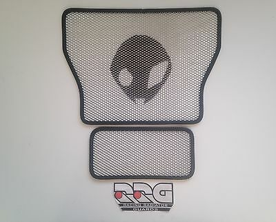 Custom Alien BMW S1000rr S1000r S1000xr Racing Radiator Guard Set HP4 08- 2017