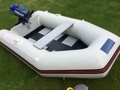 seago 260 inflatable boat only, outboard not included in sale