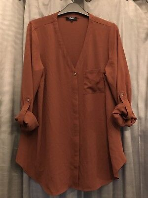new Look Maternity Shirt Size 12