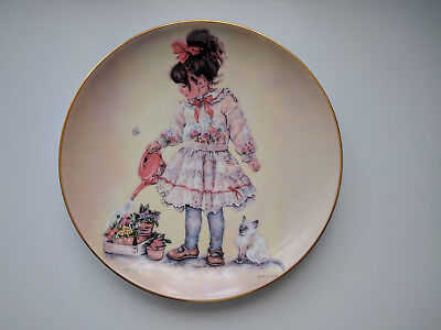 The Leonardo Collection - Little miss greenfingers - Collectors Plate