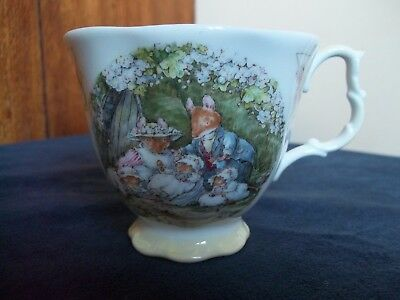 """Royal Doulton Brambly Hedge Cup """"Poppy's Babies"""". First Quality."""