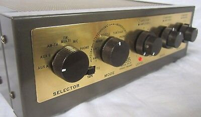 Superb EICO HF-85 STEREO TUBE PREAMP PREAMPLIFIER Serviced, Works, Clean