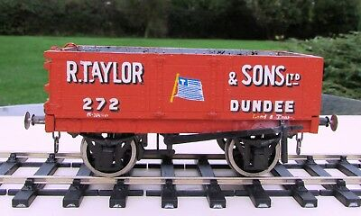 7mm Fine Scale R Taylor & Sons, Dundee  Private Owner Wagon