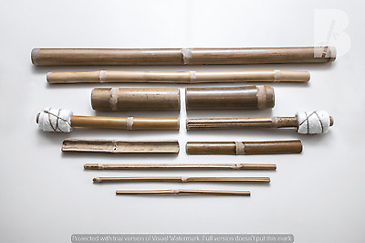 Bamboo Massage Kit (11 stick) TOP VERSION - Kit per massaggi in bambù COMPLETO
